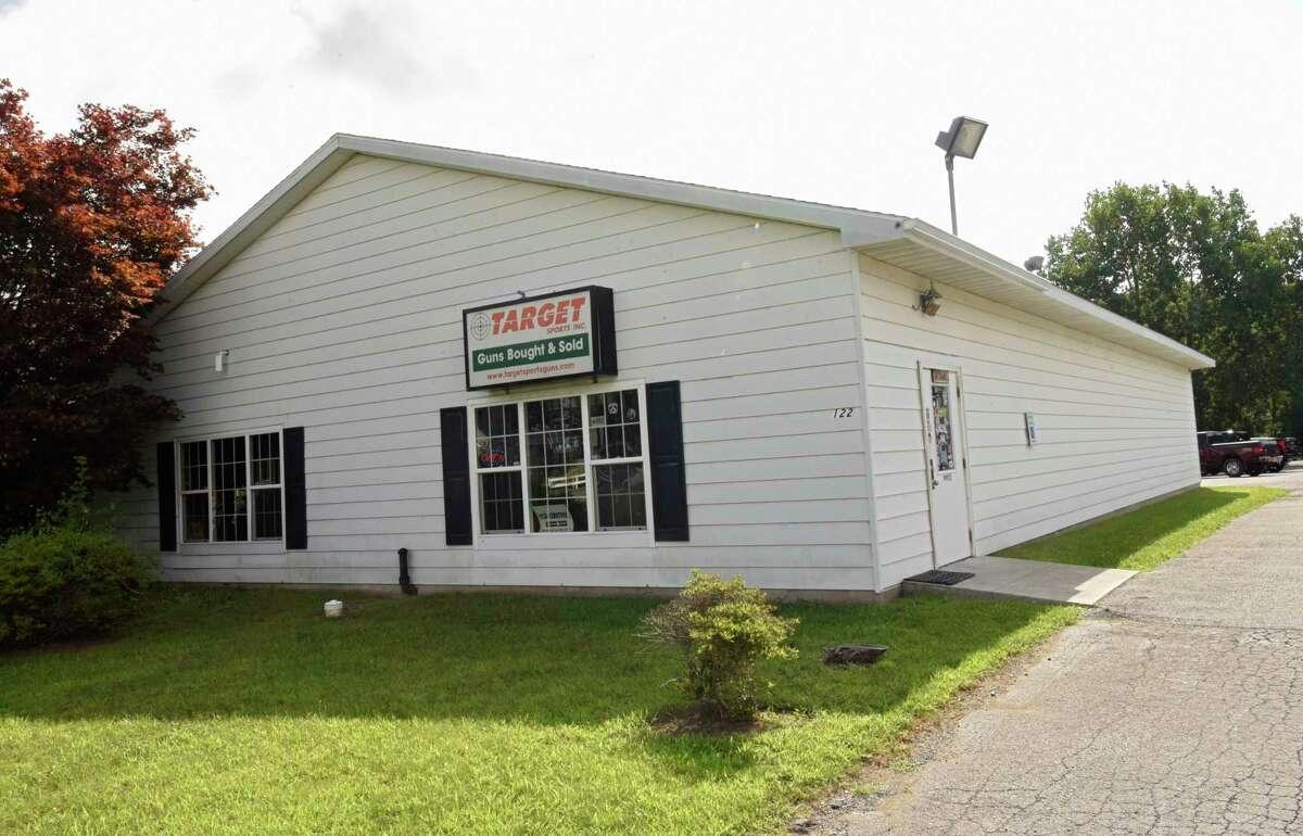 Exterior of Target Sports on Wednesday, Aug. 12, 2020 in Glenville, N.Y. (Lori Van Buren/Times Union)