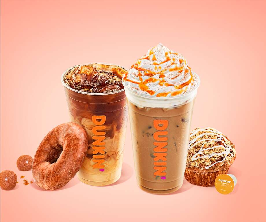 Dunkin' announces its much anticipated fall lineup of menu items available starting Aug. 19. Photo: Courtesy: Dunkin'