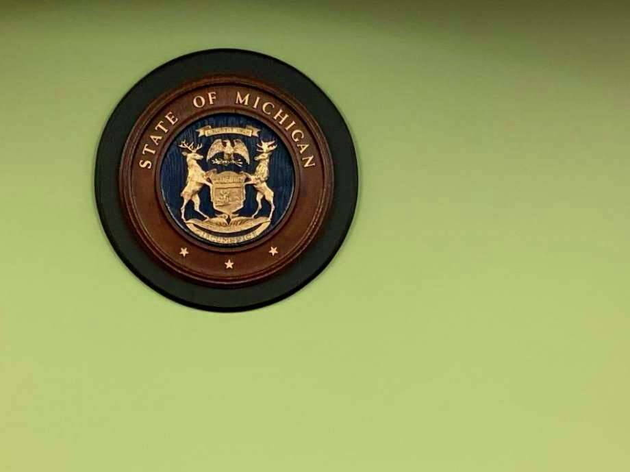 A courtroom seal for the state of Michigan. The Sanilac County board of commissioners voted against a proposal that would have allowed Sanilac and Huron County residents to vote on a merged probate court. (Tribune File Photo)
