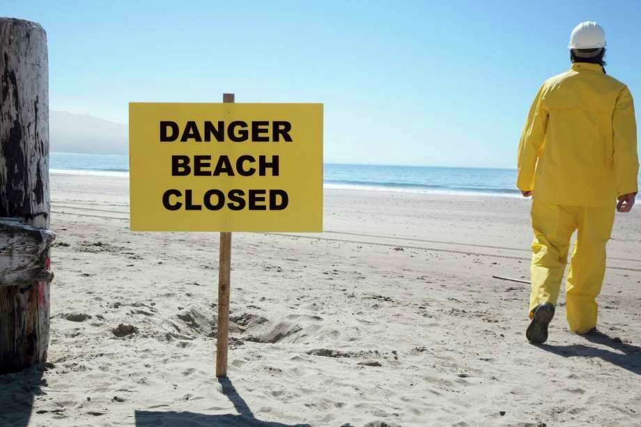 Caseville Beach was deemed temporarily unsafe for swimming after recent testing showed elevated levels of E. coli. (File Photo)