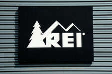 SANTA FE, NM - AUGUST 1, 2017: A sign over the entrance to the Recreational Equipment Inc. (REI) outdoor gear and clothing store in Santa Fe, New Mexico. (Photo by Robert Alexander/Getty Images)