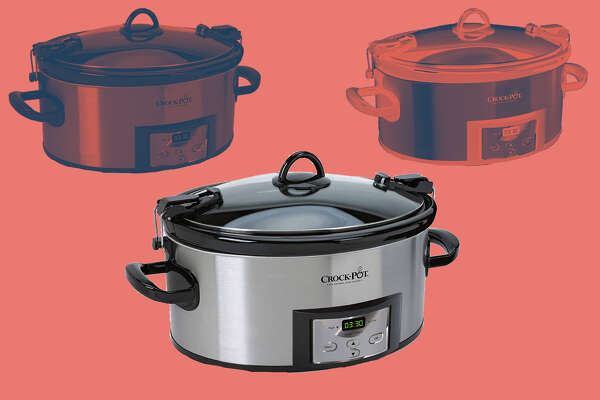 Crock-Pot 6-Quart Cook & Carry Programmable Slow Cooker, $40.49 on Amazon