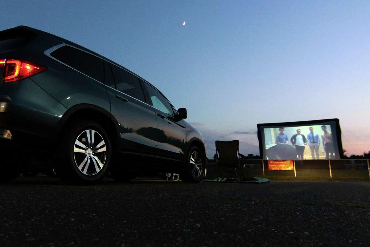 Trumbull High School's Thespian Society held its Summer Drive-In Movie Series in the parking lot at Trumbull High School in Trumbull in late July.
