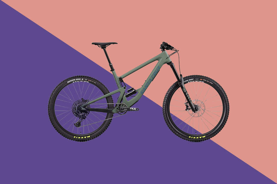 The Santa Cruz Bronson is the top-rated mountain bike according to our experts. Photo: Backcountry/Hearst Newspapers