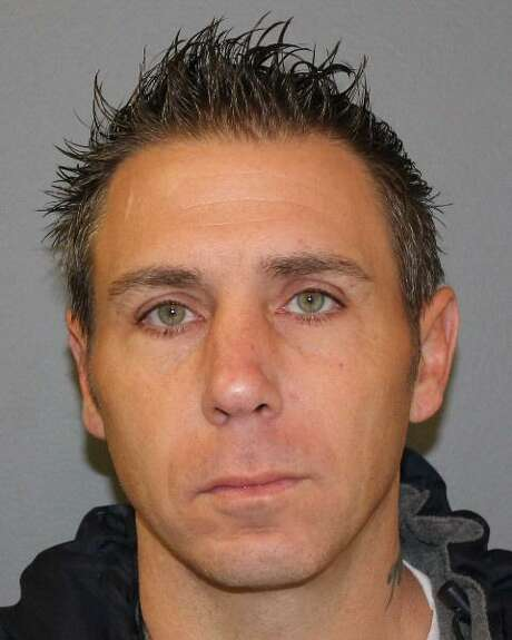 Joseph Marino, 48, of New Haven, Conn., was charged Wednesday, Aug. 12, 2020, with eight counts of third-degree burglary, eight counts of criminal mischief and seven counts of larceny — ranging from first- to sixth-degree offenses, police said. Photo: Contributed Photo / Shelton Police Department