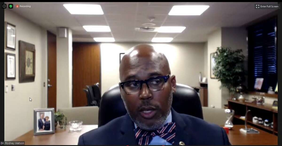 Spring ISD held a Board of Trustees meeting Tuesday, August 11, via video conference and telephone call to approve changes in the annual review of the student code of conduct for the 2020-2021 school year.