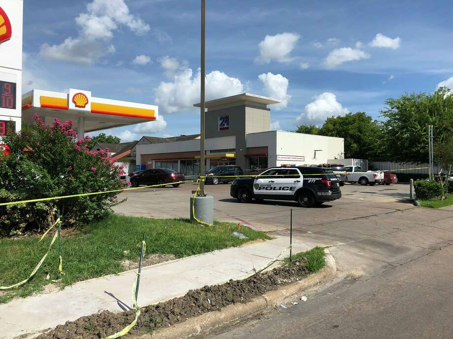 A man was killed Wednesday at a gas station on Houston's southwest side, according to police. Photo: Houston Police Department