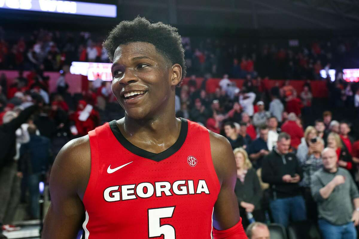 Scouts see Georgia guard Anthony Edwards' skills and often think he will be a superstar.