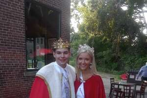 The 86th annual Laurel Festival, which was almost completely canceled by COVID-19, includes the Laurel Queen and King contest. Little Red Barn Brewers provided the space for the crowning of the 2020 Queen and King, which included a reception with dinner and honoring the winners. Above, Lydia Bird and Evan Blass were named the 2020 winners.