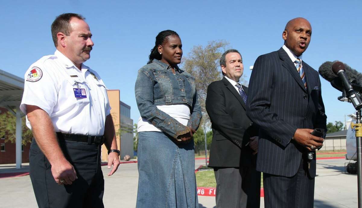 Former HISD Police Chief Jimmie Dotson, shown in this 2010 file image, is one of four candidates as of Aug. 12 seeking election to the Position 2 seat on The Woodlands Township Board of Directors.
