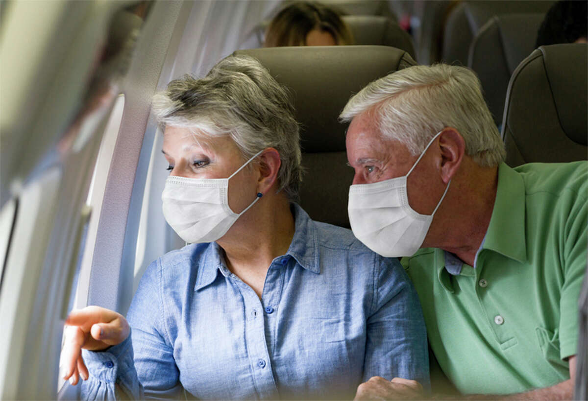 The oldest travelers have the highest discomfort levels about airline flights.