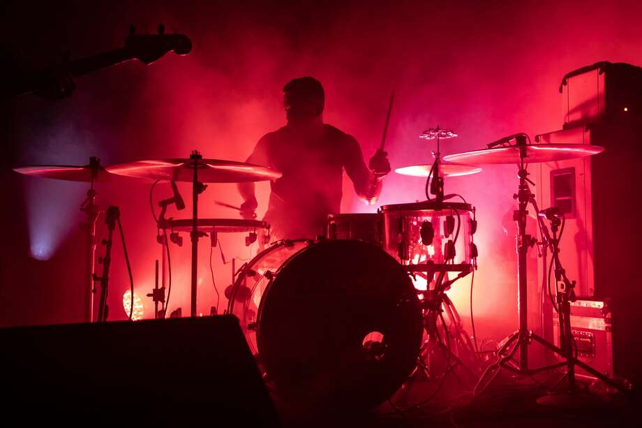 Drummer Thomas Hedlund of Cult of Luna performs at Slim's on March 9, 2020 in San Francisco. Photo: Miikka Skaffari/FilmMagic / 2020 Miikka Skaffari