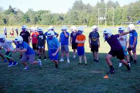 On Wednesday evening, the Morley Stanwood football team held its second official practice of the summer.