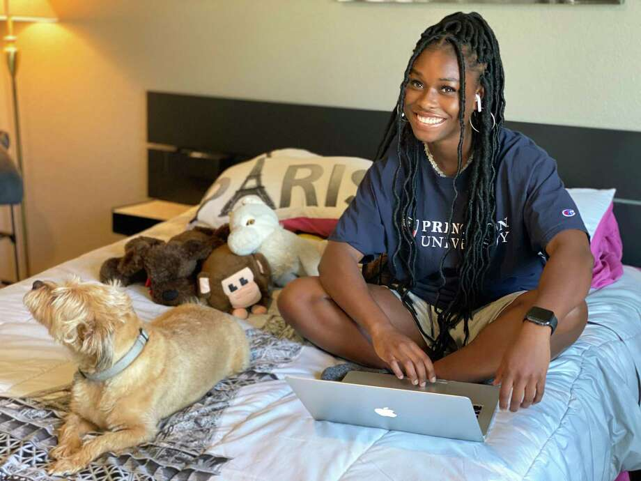 Summer Creek High School senior Adaora Nwokeji is excited to kick off a senior year entirely online. The Princeton commit will compete on the basketball team. Photo: Contributed Photo By Aimee Shleby-Nwokeji