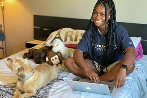 Summer Creek High School senior Adaora Nwokeji is excited to kick off a senior year entirely online. The Princeton commit will compete on the basketball team.
