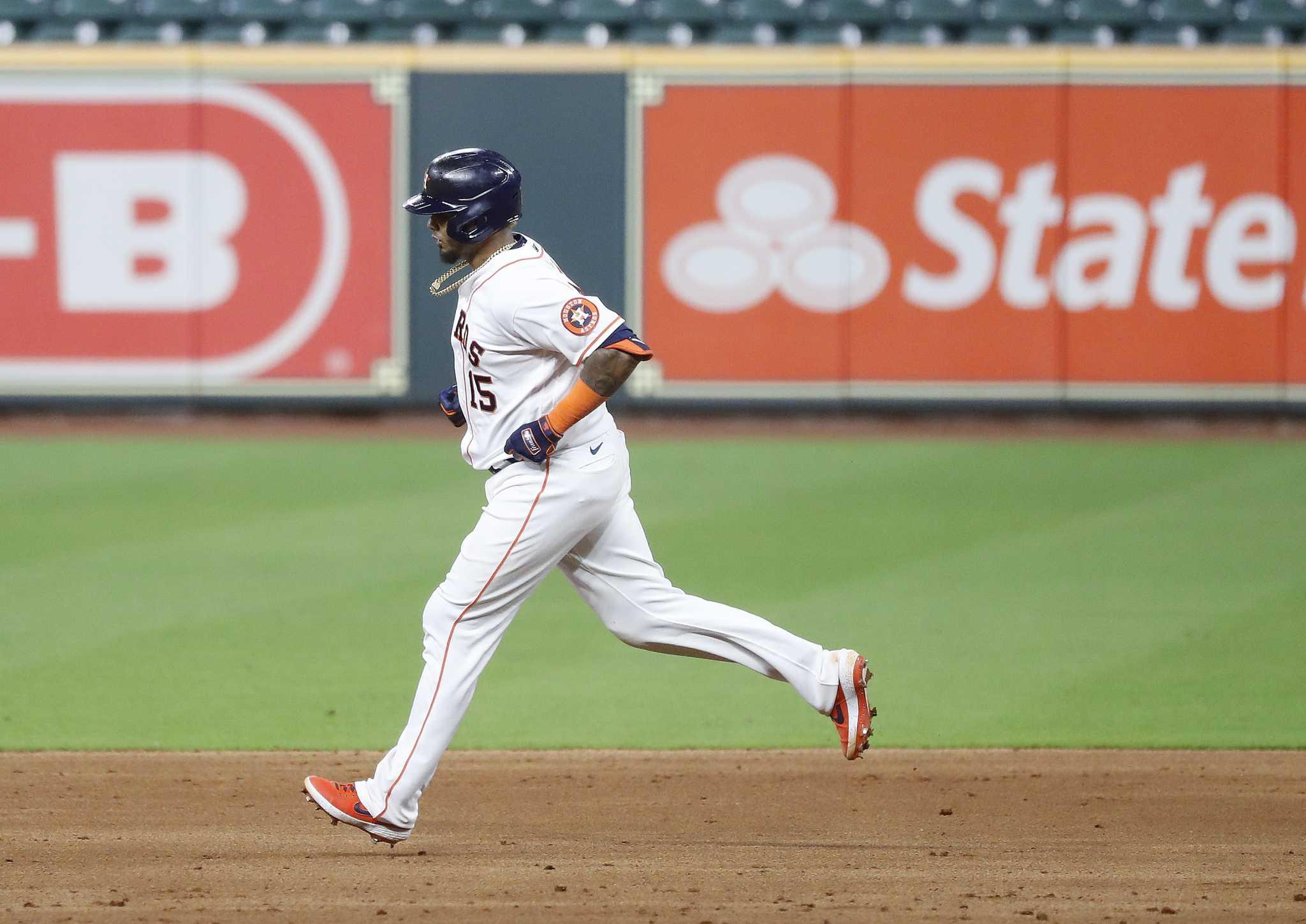 Maldonado's 3-run shot leads Astros over Giants