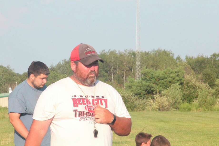Scott Shankel and his Reed City football team kicked off the practice season on Monday. (Herald Review file photo)