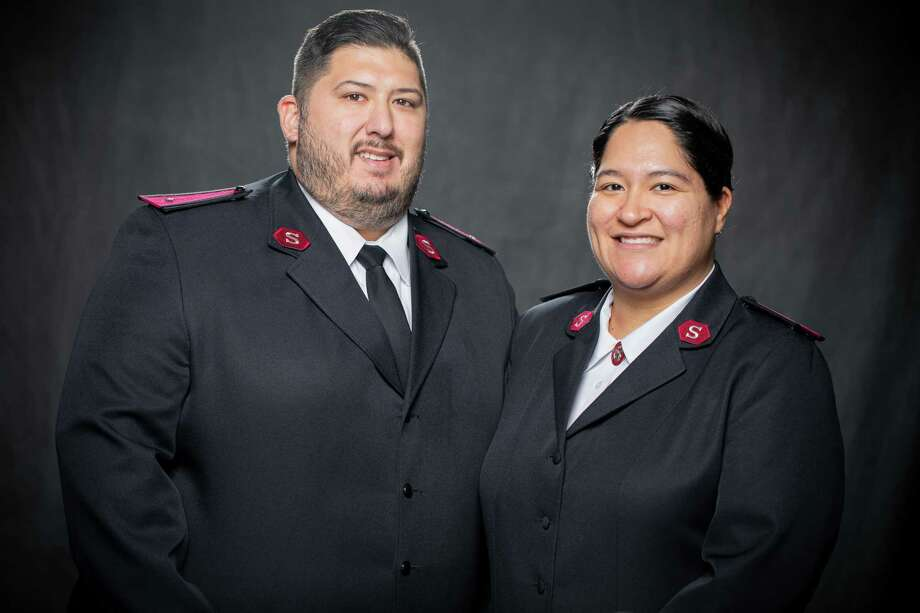 Lt. James Guzman and Lt. Claudia Guzman are the new leaders at the Conroe Salvation Army. They came in late June and have taken the place of Majors Don and Helene Wildish. Photo: Photo Courtesy Lt. James Guzman