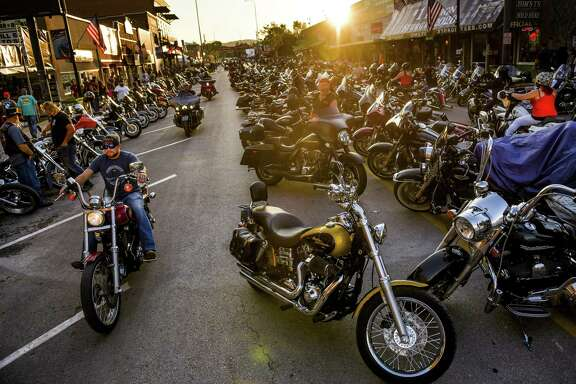 Maskless motorcyclists drive down Main Street during the 80th annual Sturgis Motorcycle Rally last week.  One reader wonders how much, not if, COVID-19 will spread from the rally, which ends Sunday, in coming weeks.