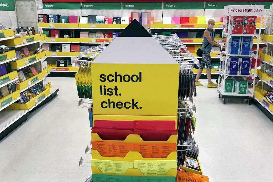 Darien Human Services is accepting gift cards for its back-to-school donation drive this summer. Photo: Bill Sikes / Associated Press / Copyright 2020 The Associated Press. All rights reserved.