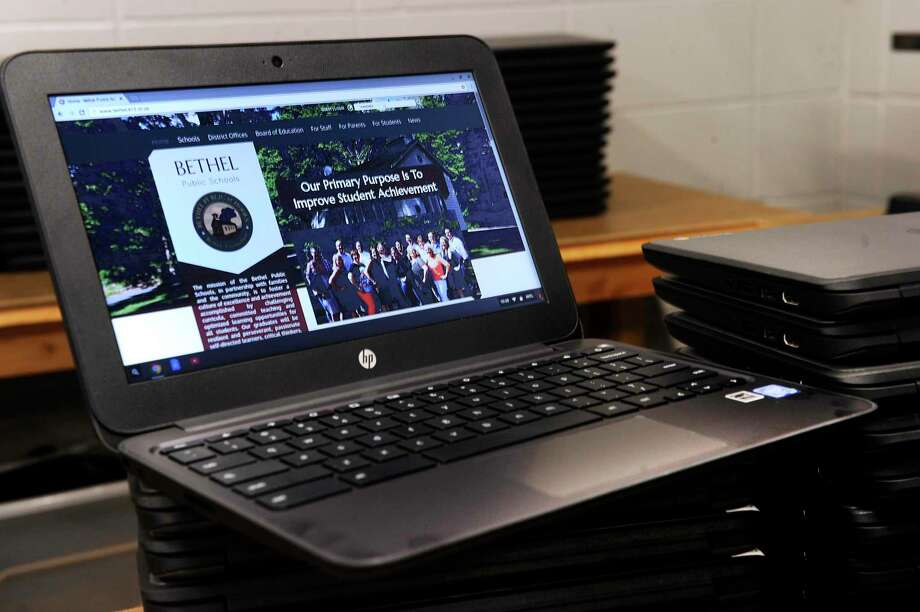 File photo of a chromebook from Bethel High School Thursday, August 18, 2016. Photo: Carol Kaliff / Hearst Connecticut Media / The News-Times