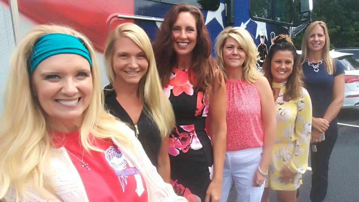 Real estate broker Kellie Kieley-Patnaude, second from left, and her team of agents recently joined the Heroes Home -Advantage. L-R: Michele Ladd (founder of HHA), Kieley, Lisa Pyskadlo-Phillips, Lori Danussi, Jacqueline Geraci, Lisa Simeone.
