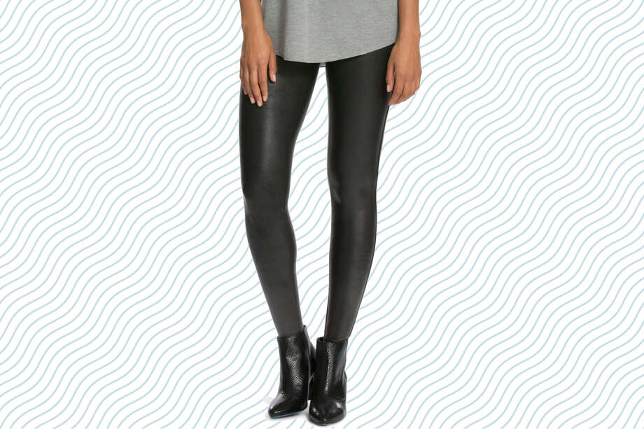 SPANX Faux Leather Leggings, $64.90 (Normally $98) Photo: Nordstrom/Hearst Newspapers