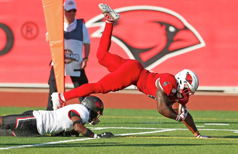 The UIW football team will have to wait until the spring to play as the Southland Conference postponed fall athletics. Photo: Ronald Cortes / Contributor / 2019 Ronald Cortes