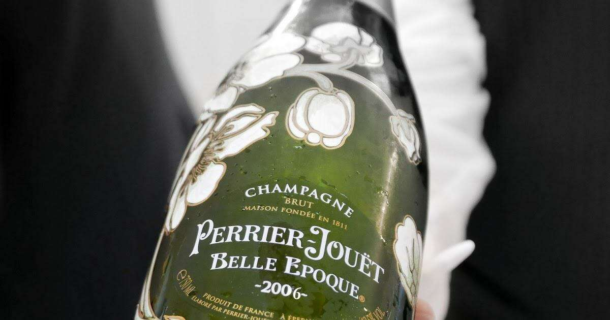 A Perrier-Jouet Belle Epougue 2006 champagne. This will be one of the champagnes features at the Wine and Food WeekPlatinum Wine Vault Collectors Tasting on Aug. 21.