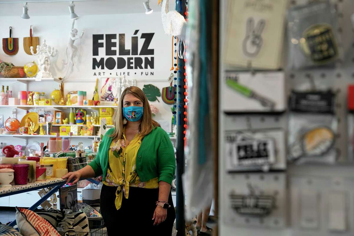 Feliz Modern Co-owner Ginger Diaz opened her gifts and supplies store in 2017, offering colorful local and global art, gifts and home decor with a San Antonio flavor. The business has two stores in San Antonio - one on 110 West Olmos Dr. and at the Pearl. Both stores are open from 11 a.m. to 5 p.m. on Saturday. Phone number for both locations: (210) 622-8364; felizmodern.com