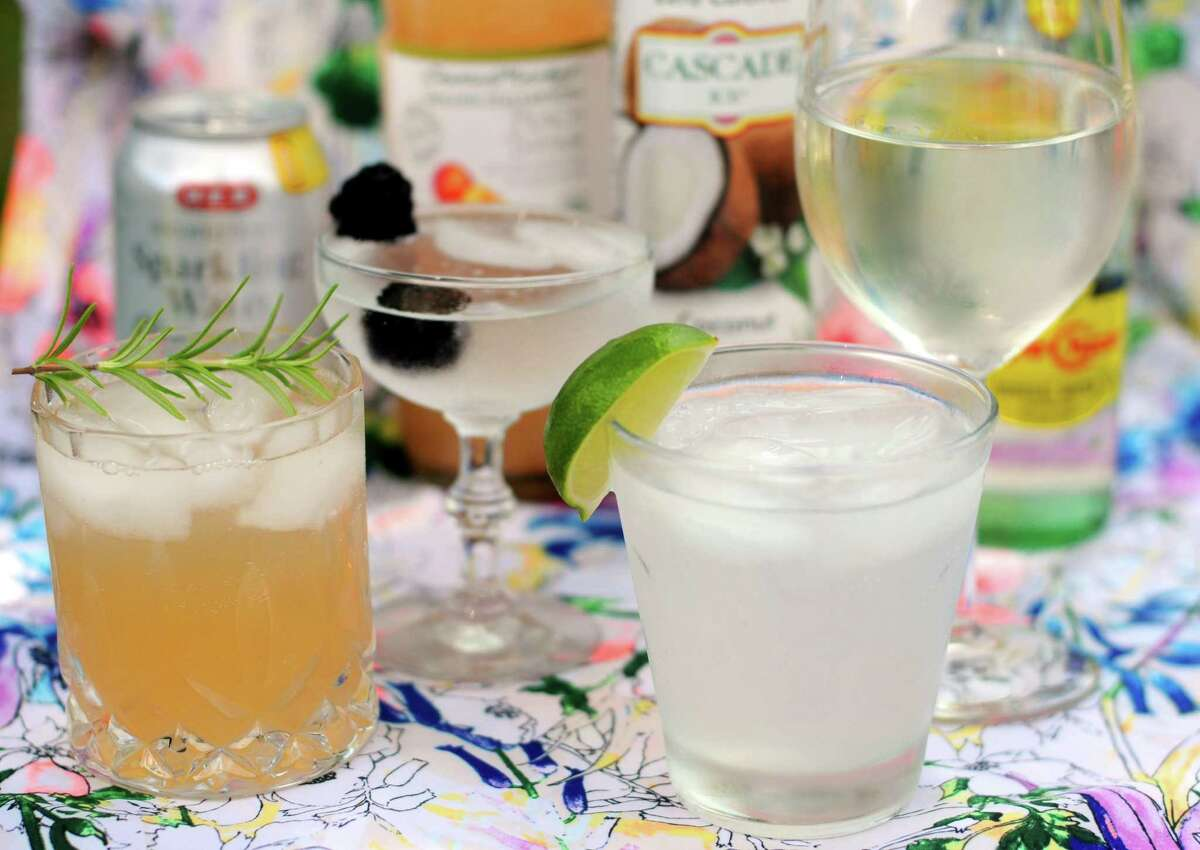 Sparkling water, flavored seltzers and interesting sodas are the perfect base for easy and low alcohol cocktails this summer.