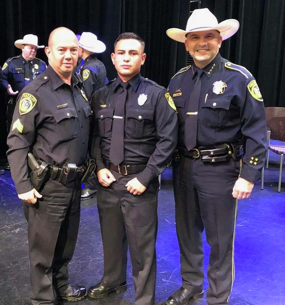 Noah Calderon, the youngest deputy to be hired by Bexar County Sheriff's Office died after being hit by an 18-wheeler Thursday morning in San Patricio County.