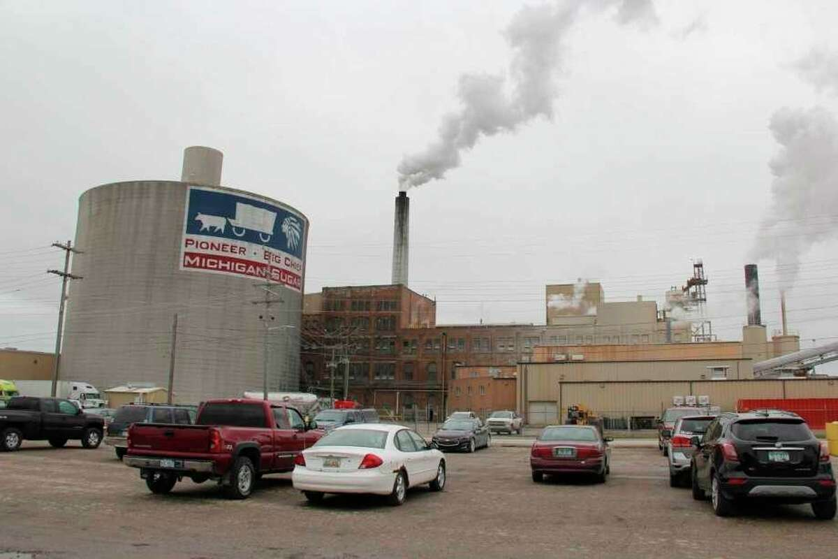 Michigan Sugar Company predicts high yields for its sugarbeet campaign this year, with 30-40% of sugarbeets being processed before permanent pilings begin in October. (Robert Creenan/Huron Daily Tribune)