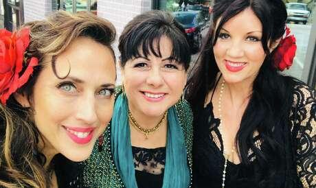The Texicana Mamas are, from left, Patricia Vonne, Tish Hinojosa and Stephanie Urbina Jones.