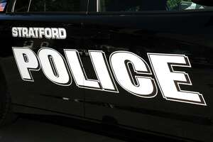 A file photo of a Stratford Police Department patrol car, in Stratford, Conn.