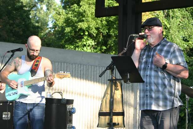 Crook Root Band wrapped up teh Big Rapids parks and recreation summer concert series with a performance of bluesy rock and roll at the Bandshell at Hemlock Park on Wednesday, Aug. 12.