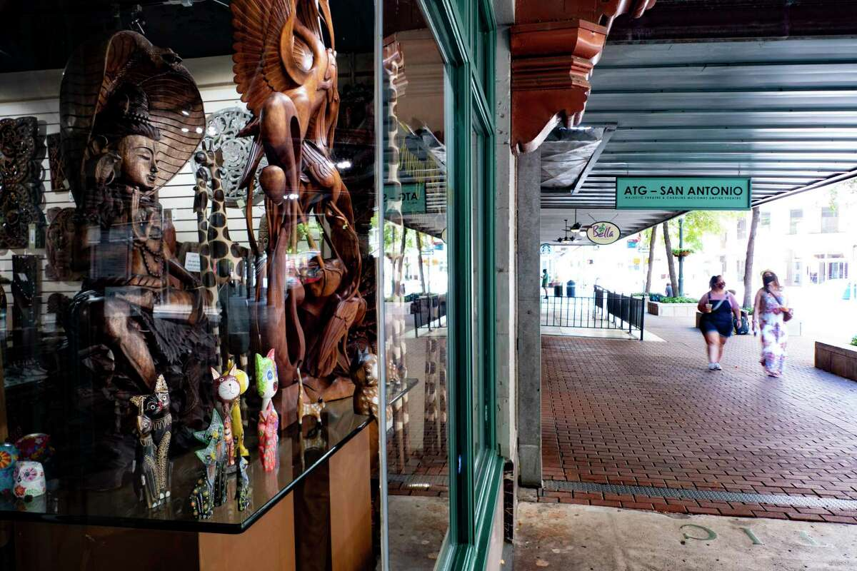 Foreign Affairs World of Import on Houston Street is open for limited hours because of the Coronavirus pandemic. Many San Antonio businesses that cater to tourists are hurting.