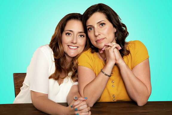 """Jessica Cordova Kramer, left, and Stephanie Wittels Wachs are the founders of Lemonada Media, which debuted the podcast """"Last Day"""" in late 2019."""