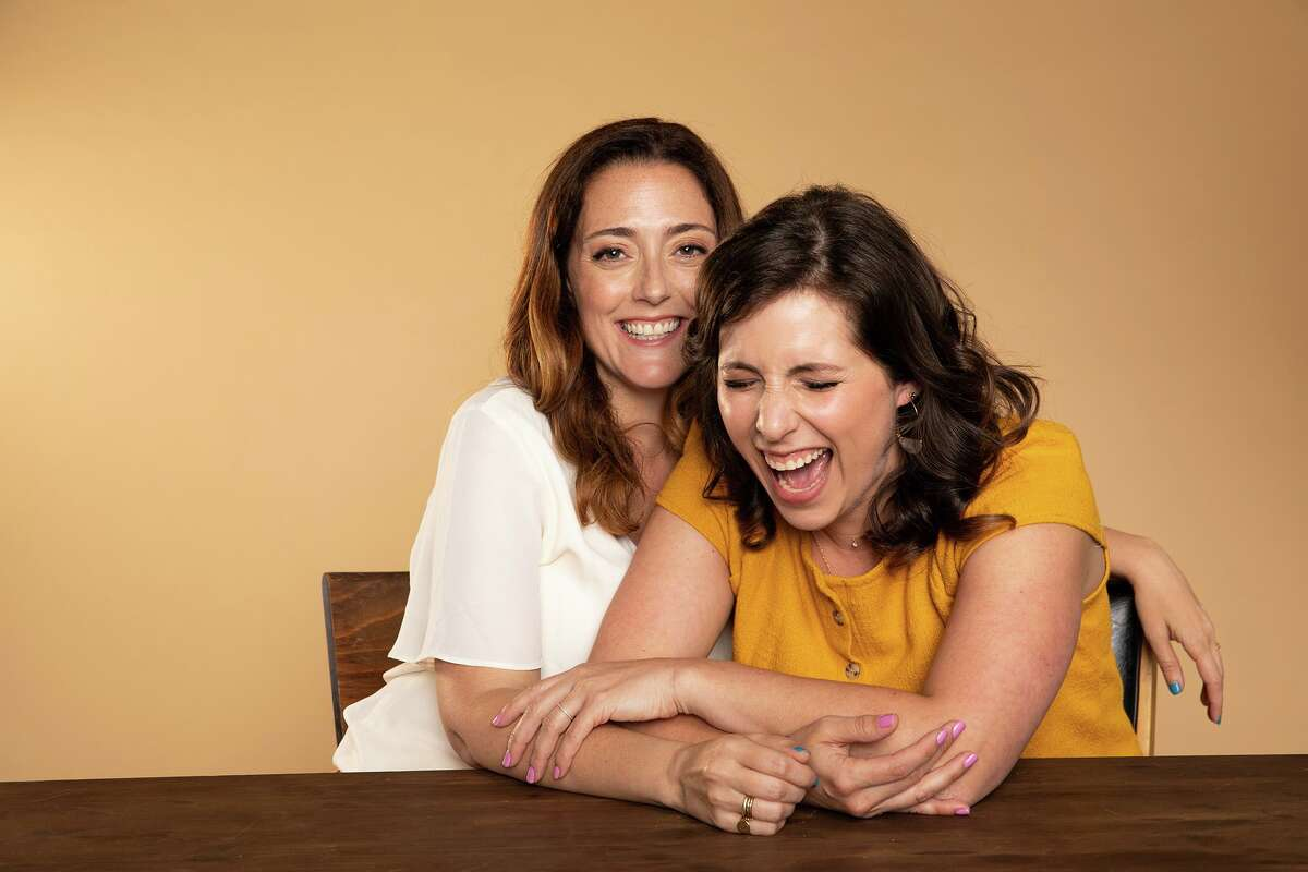 Jessica Cordova Kramer (left) and Stephanie Wittels Wachs are the founders of Lemonada Media, which debuted the podcast