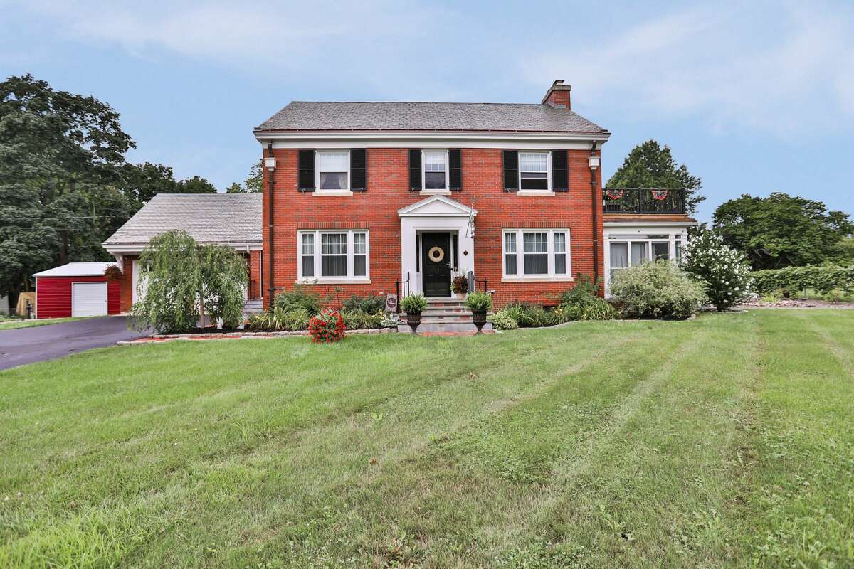 This week's house is a brick Colonial in Troy with five bedrooms and two and a half bathrooms. List price: $369,900. Contact listing agent/homeowner Amy Magur of Keller Williams Capital District at 518-729-8486. https://realestate.timesunion.com/listings/2721-15th-St-Troy-NY-12180-MLS-202024891/43383745