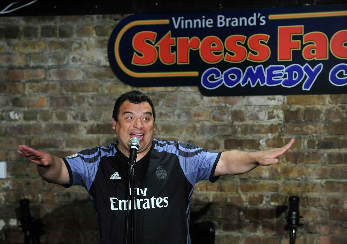 STRESS FACTORY: Comedian Carlos Mencia is set to perform at the reopened Stress Factory Comedy Club in Bridgeport Aug. 20-22.