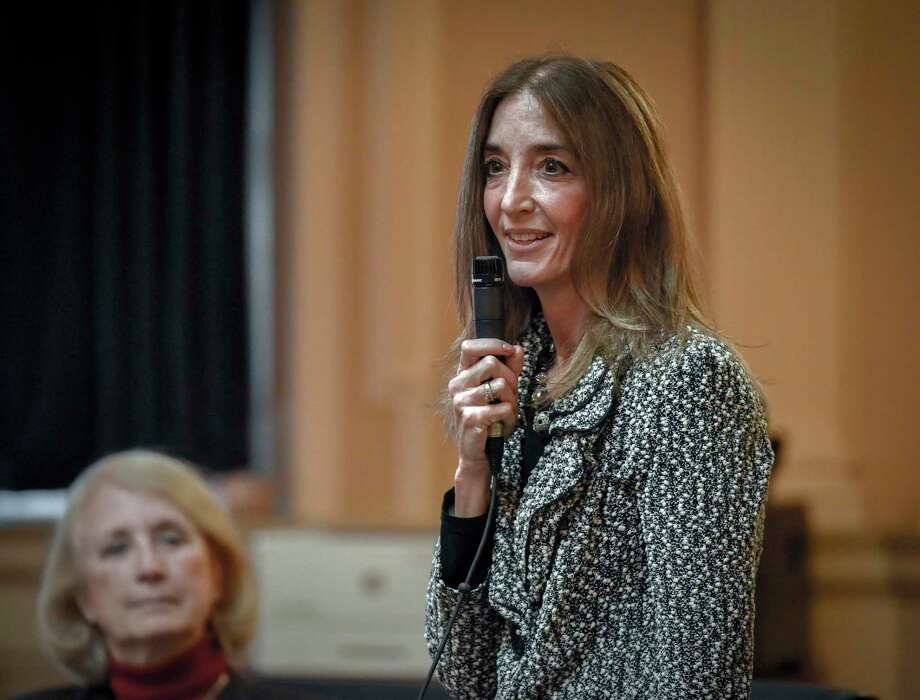 Rep. Eileen Filler-Corn, D, announced a package of legislation House Democrats plan to pursue during this month's special session. She is shown Feb. 20, 2019, in Richmond, Va. Photo: Washington Post Photo By Bill O'Leary / The Washington Post