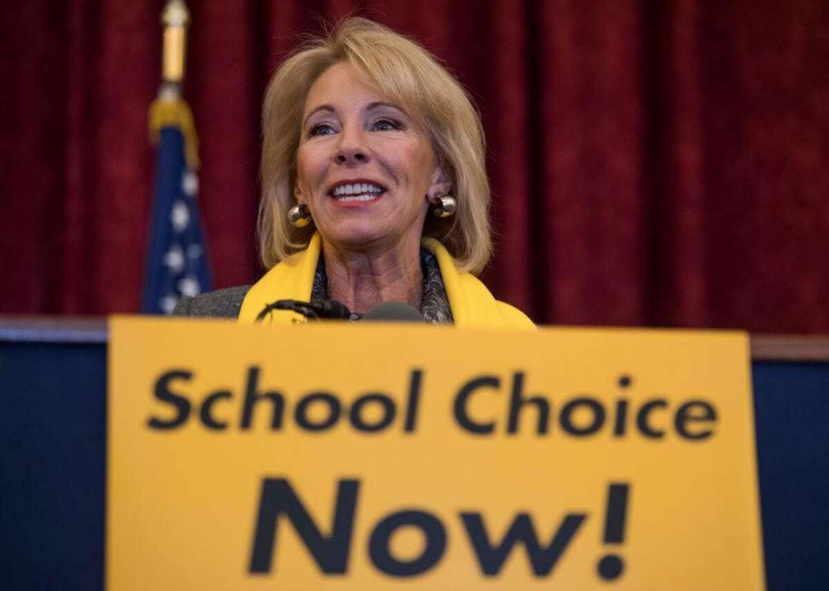 Donald Trump: School choice President Trump said recently that