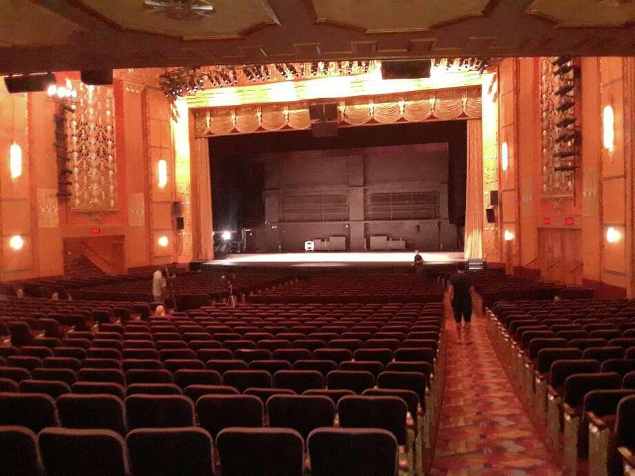 The interior of the Warner Theatre in Torrington. Photo: Emily M. Olson / Hearst Connecticut Media /