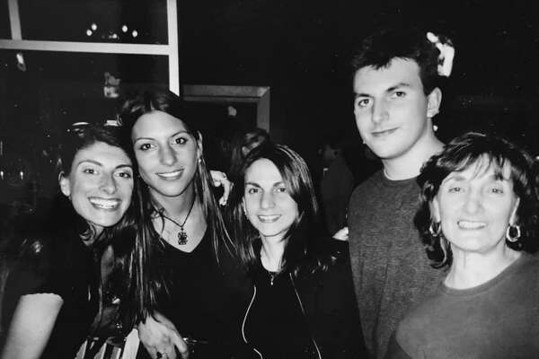 Chip Malafronte with his sisters, from left Nancy Malafronte, Mia Malafronte, Gina Malafronte and his mom, Shirley Malafronte Fontana.