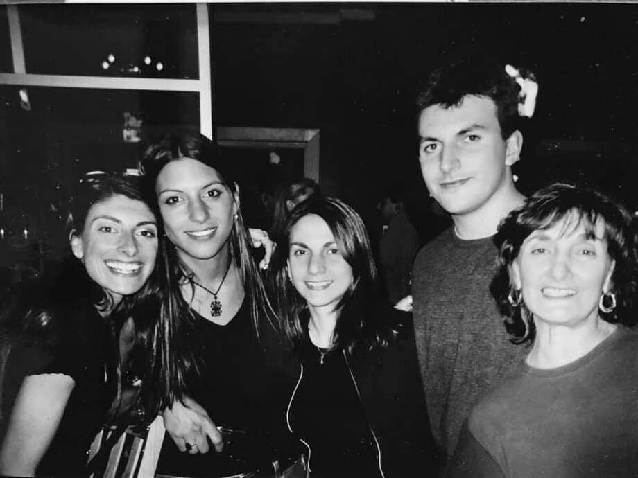 Chip Malafronte with his sisters, from left Nancy Malafronte, Mia Malafronte, Gina Malafronte and his mom, Shirley Malafronte Fontana. Photo: Mia Malafronte / Contributed Photo