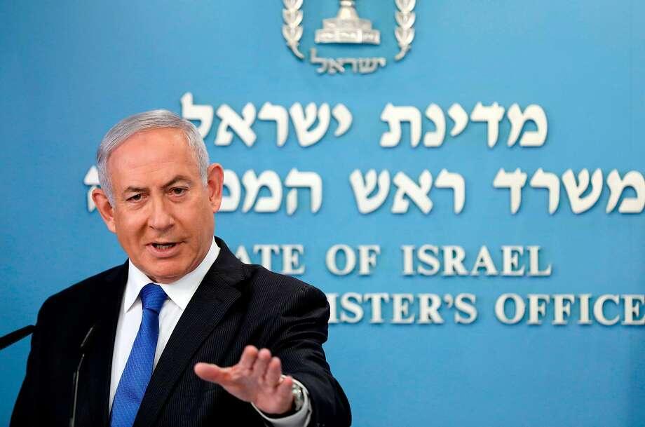 Israeli Prime Minister Benjamin Netanyahu Photo: Abir Sultan / AFP / Getty Images
