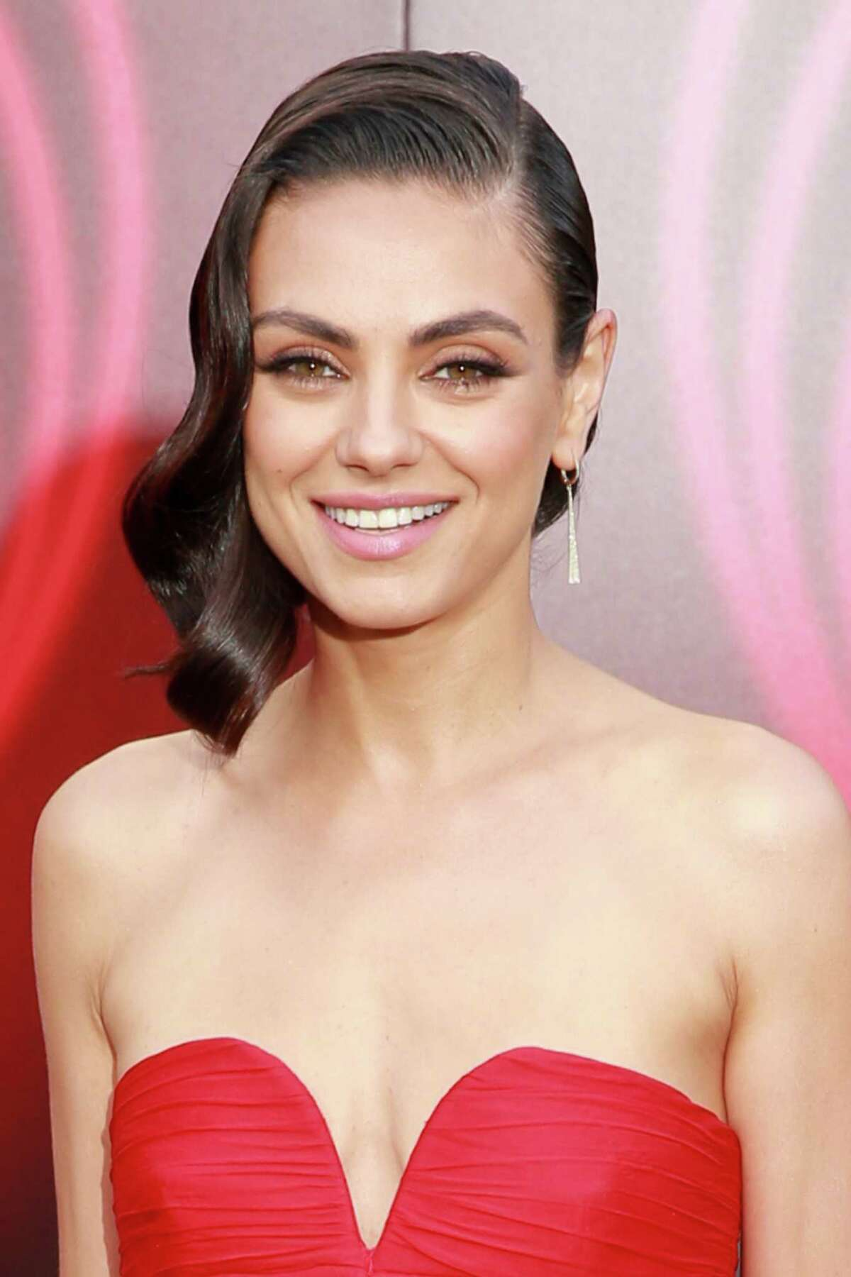 LOS ANGELES, CA - JULY 25: Mila Kunis attends the premiere of Lionsgate's