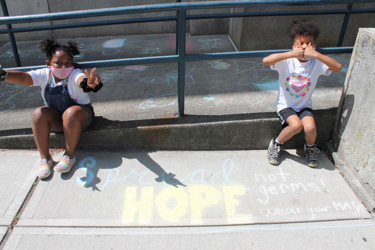 Some of the Albany Police Athletic League, Inc. PAL CARES Program youth flexed their artistic talents with a very special message that they wanted to share with the Albany community.
