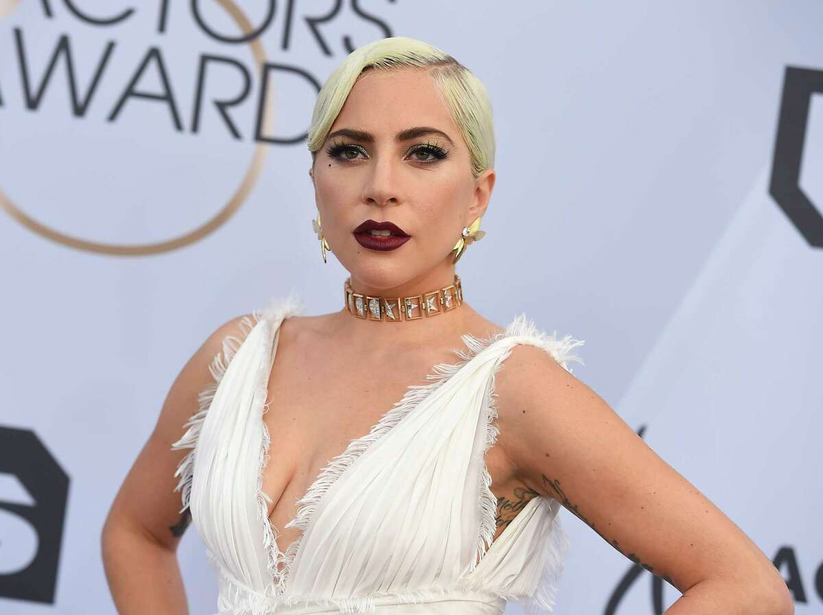 FILE - Lady Gaga arrives at the 25th annual Screen Actors Guild Awards on Jan. 27, 2019, in Los Angeles. MTV announced Thursday that Gaga, who is tied as the most-nominated act alongside Ariana Grande, will perform at the 2020 MTV Video Music Awards on Aug. 30. Other performers include The Weeknd, BTS, J Balvin, Doja Cat, Maluma, Roddy Ricch and CNCO. (Photo by Jordan Strauss/Invision/AP, File)